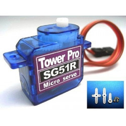 SG51R servo (RoHS), full plastic gear set