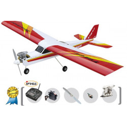 AVION TIGER TRAINER MK3 NITRO SUPER COMBO (RADIO 2.4G +MOTEUR) (T4583F)