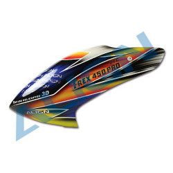 450 PRO DFC Painted Canopy Bulle (HC4311T)