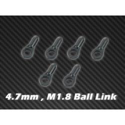 Ball Link x 6 4.7mm, M1.8 for HPTB002, HPTB010