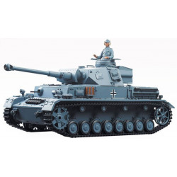 HengLong Panzer IV F2 Airsoft RC Battle Tank RTR Sound and Lighting 1/16th - City Camouflage (3859)