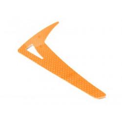 T-REX500 / Protos 500 Vertical Fin G10 Orange (LX0185)