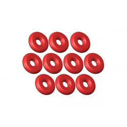 O-Ring ID 1 - W 1 Silicon Red - 10pcs (LX0419)
