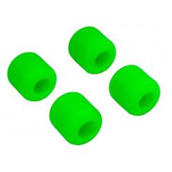 Landing skid Rubber Nut (Green) (dia 8mm) for 9mm landingskid (T-Rex 550, 600, 700) (HA0428-8G)