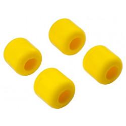 Landing skid Rubber Nut (yellow) (dia 8mm) for 9mm landingskid (T-Rex 550, 600, 700) (HA0428-8Y)