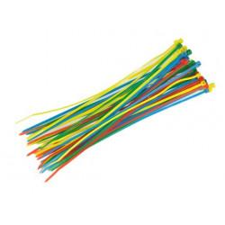Cable binder (six different colors ) (40pcs) 4x200mm NEW (HA0709-L)