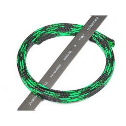 Servo Spiral wrap 1m (Black / 6 green) (HA091-15)