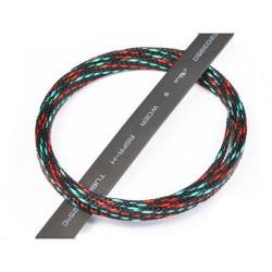 Servo Spiral wrap 1m (black+light blue+red) (HA091-27)