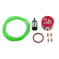 Metal Fuel Bottle Cap Red (HA094-R)