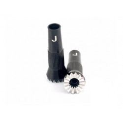 JR Rocker (Black) Small (Outside size is 10MM) (S-HA0626-JR-BL)