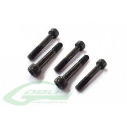 DIN 12.9 Shoulder Socket Head Cap Screw M2.5x19 (4pcs) (HC033-S)