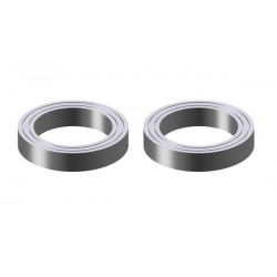Ball bearing 15x21x4 2pc (04522)
