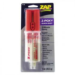 ZAP 5 Minute Z-Poxy transparente Fuel proof (PT-36)
