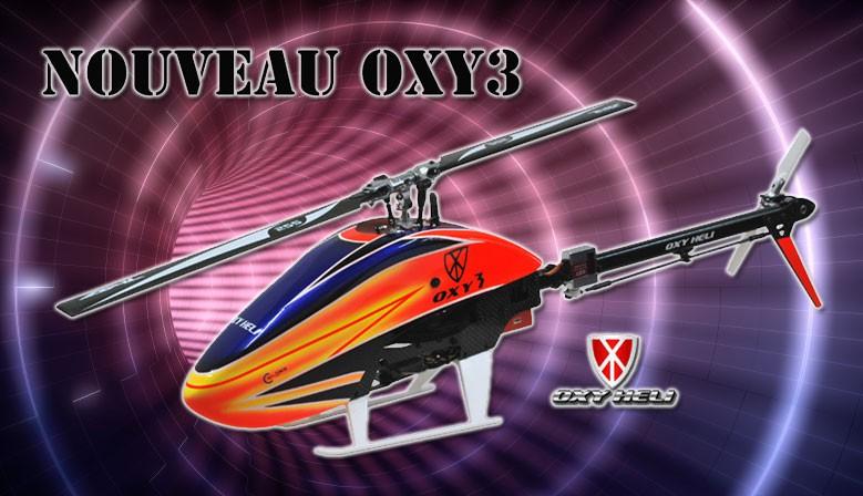 Oxy heli Kit Oxy 3 de Lynx