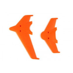 Vertical and horizontal tail blade set(red)