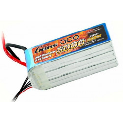Gens ace 5000mAh 25.9V 40C 7S1P Lipo Battery Pack (B-40C-5000-7S1P)