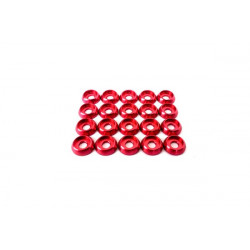 Frame C Washer M2 - Red - 20pcs (LX0296)