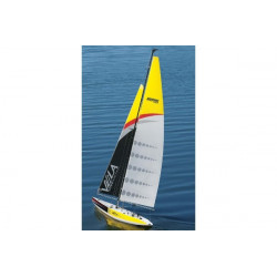 Vela one Meter Voilier 1M RTR 2.4Ghz Racing Sailboat Aquacraft (AQUB0200)