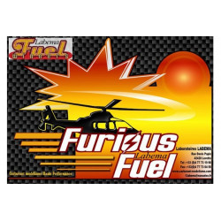 Carburant LABEMA Hélico Furious Fuel 35% nitro 5L (FF35)