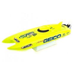 Miss GEICO 24 RTR 2.4Ghz - Proboat Katamaran RTR (PRB0500I)