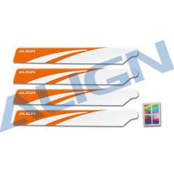120 Main Blades White /Pales Principales Orange (HD123BT)