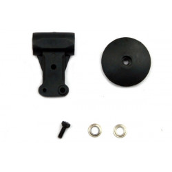 Plastic Head Block/Rotor Housing Set: ESKY500