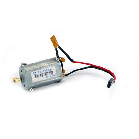 E-flite 180 Motor with 8 teeth 0.5M pinion and PTC Fuse Right: BCX/2 (EFLH1211B)