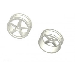 ACME 1/10 Rc Car Front wheel 2pcs (WHITE)
