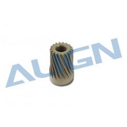 Motor Pinion Helical Gear 18T/Pignon moteur 18 dents - T-rex 550 (H55052T)