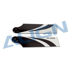 70 Carbon Fiber Tail Blade/Pales anticouple T-REX 500 (HQ0700CT)