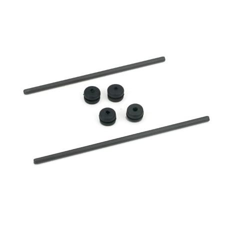 E-flite Body Mount Rod and Grommet Set: BCX/2 (EFLH1226)