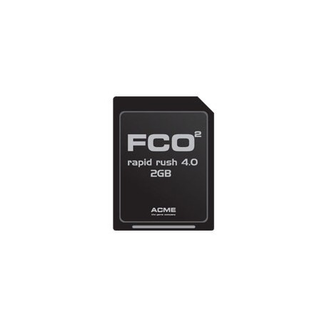FCO2 Rapid Rush 8.0 2GB Micro SD-Card (Include SD-Card Adaptator) (FC2002)