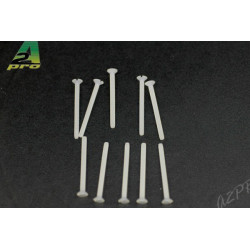 Vis TF nylon 2x25mm (10 pcs) (26225)