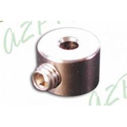 Bague d'arrêt chromée - 2mm (4260)