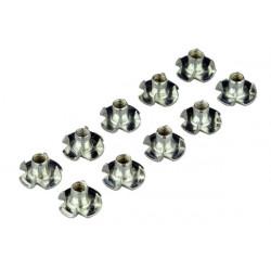 10 x écrou à insérer M5 (701027)