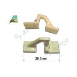 Charnière déportée 26.5mm (10 pcs) (6445)
