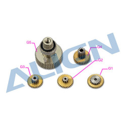 DS615S Servo Gear/Pignon de Servo (HSP61503T)