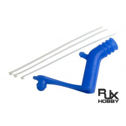 Muffer silicon pipe for 50/90 muffer (Blue) (HA0133BLU)