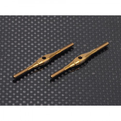 Ti Turnbuckles (M2.5x46 -2pcs) for Blade 550X,600X FBL