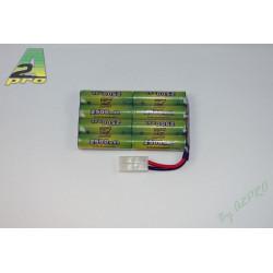 PACK 9.6v/AP-2500 TAMIYA NIKKO-TYCO (8252N)