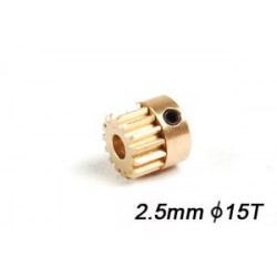 Motor Pinion 15T (2.5mm hole)
