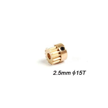Motor Pinion 15T (2.5mm hole)