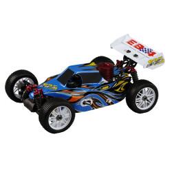 Buggy EB4 S2.5 1/8 4WD RTR 2.4Ghz - BLEU (Thunder Tiger 6243-F112)
