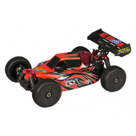 Buggy EB4 S2.5 1/8 4WD RTR 2.4Ghz - ROUGE (Thunder Tiger 6243-F114)