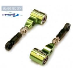 180CFX Bras de commande DFC Turnbuckles DFC ARM (Green) -  Xtreme 180CFX Blade Grip