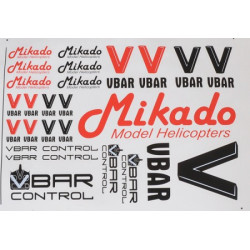 VBar / VControl decal set (04901)