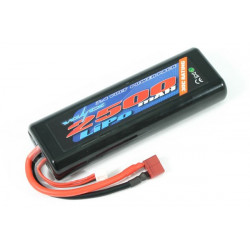 VOLTZ 2500mah HARD CASE 7.4V 20C LIPO STICK PACK