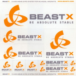 BeastX Sticker (BXA-DB1)