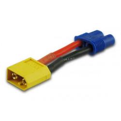Adaptateur/adapter XT60/EC3 plug