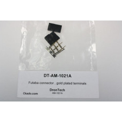 Futaba connector , gold plated terminals